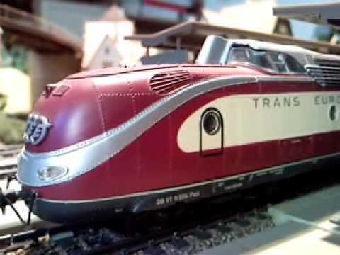 ROCO TEE VT11.5 BR601 Helvetia umgebaut auf Märklin AC