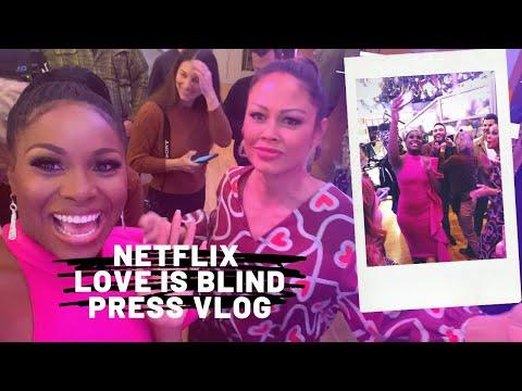 Netflix #LoveIsBlind PRESS VLOG!!!