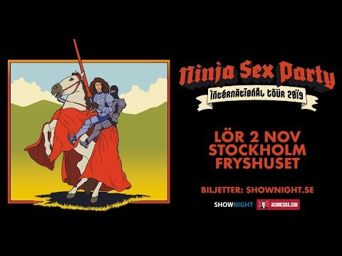 Bonjour Sweden? Ninjas, Sex & Parties in Stockholm!