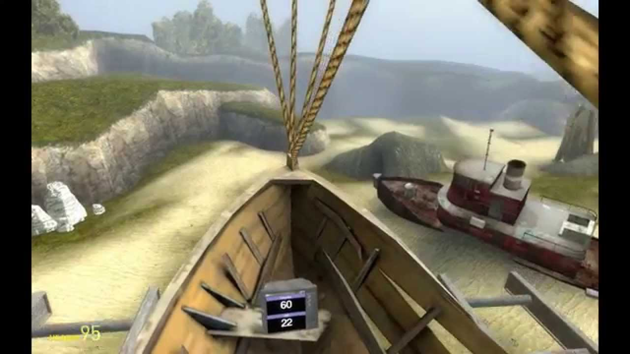 Gmod Airship In HL Gameplaying Coast Maps With Gmodism ACF - Florida map gmod