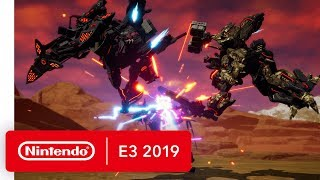 DAEMON X MACHINA - Nintendo Switch Trailer - Nintendo E3 2019