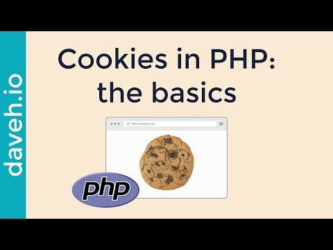Cookies in PHP: the basics