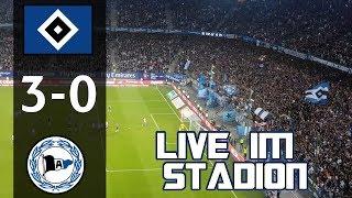 HSV vs Arminia Bielefeld | Live im Stadion | MarcSarpei