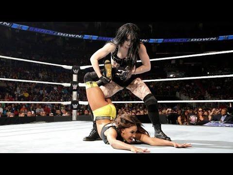 WWE SmackDown 02.19.15 Paige vs. Cameron (720p)