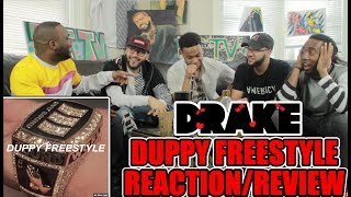 DRAKE - DUPPY FREESTYLE (KANYE & PUSHA T DISS) REACTION/REVIEW