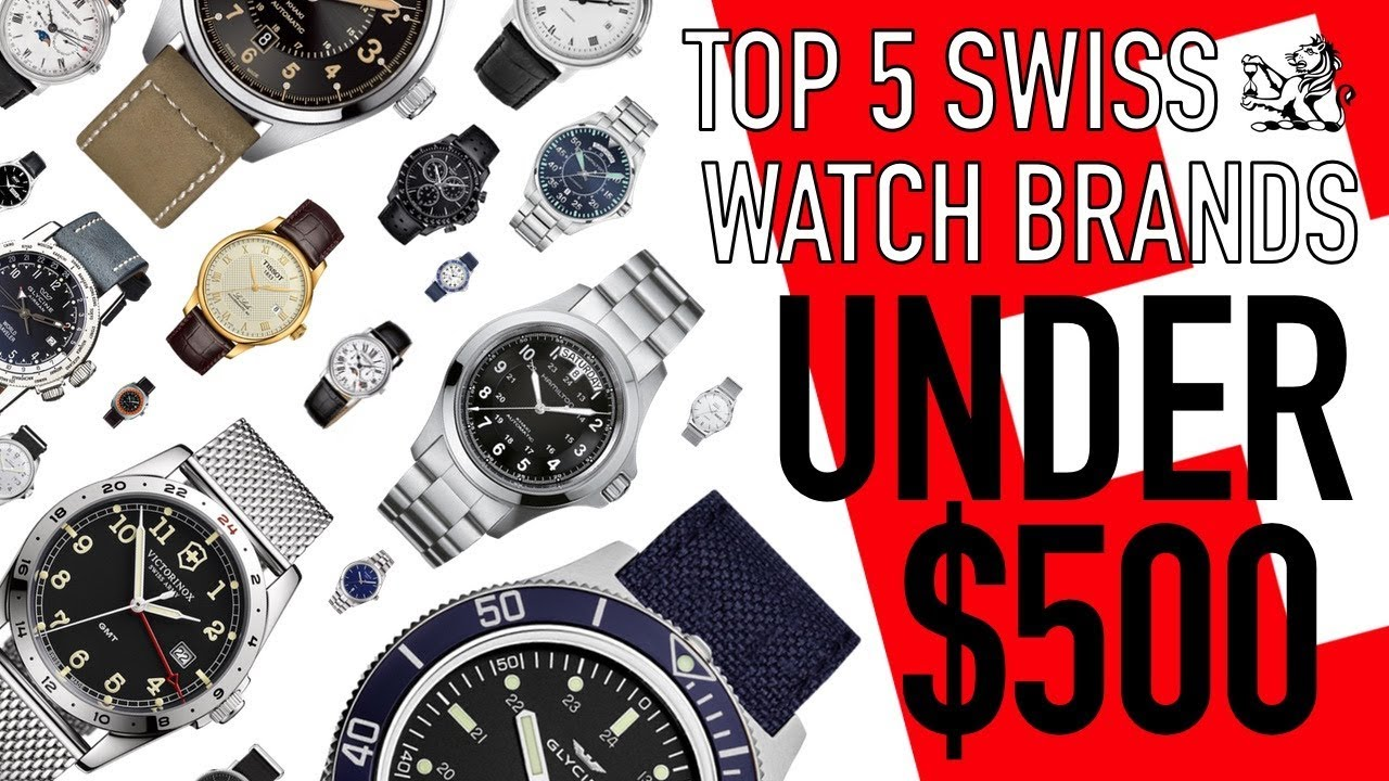 d143a4eb125 Top 5 Swiss Made Watch Brands From  100 To Under  500 - The Best Classic  Options From Each Brand