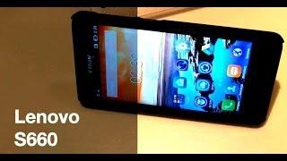 Lenovo S660 - стильный и мощный металлический смартфон - видео обзор