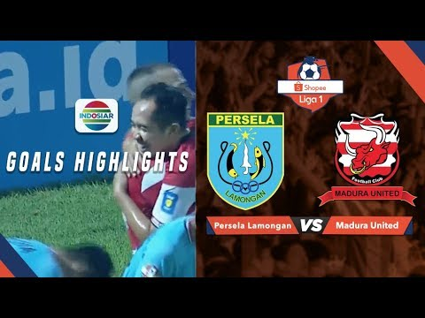 Persela Lamongan (1) vs Madura United (5) - Goal Highlights | Shopee Liga 1