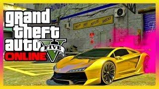 GTA 5 DLC Gold Paint, Pink Tire Smoke, & More HIPSTER DLC (GTA V)