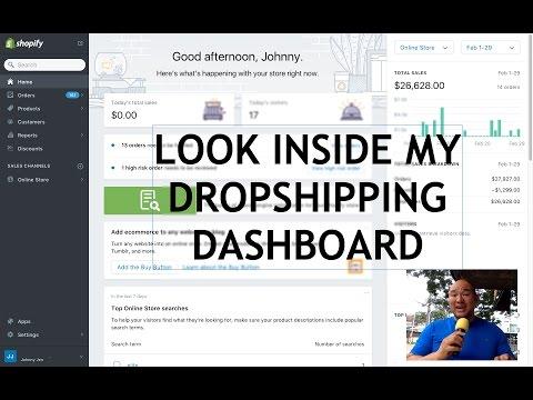 Dropshipping: Inside My Shopify Dashboard