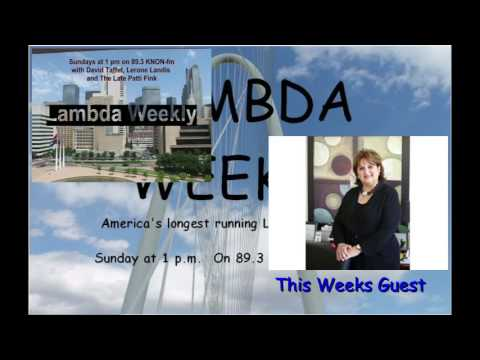 Knon 89.3, Lambda Weekly 2016.07.03 with Veletta Forsythe Lill , Lerone, Patti and David Taffet