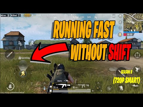 Run Fast In Tencent Gaming Buddy Without Pressing Shift   Pubg Mobile Emulator   2019
