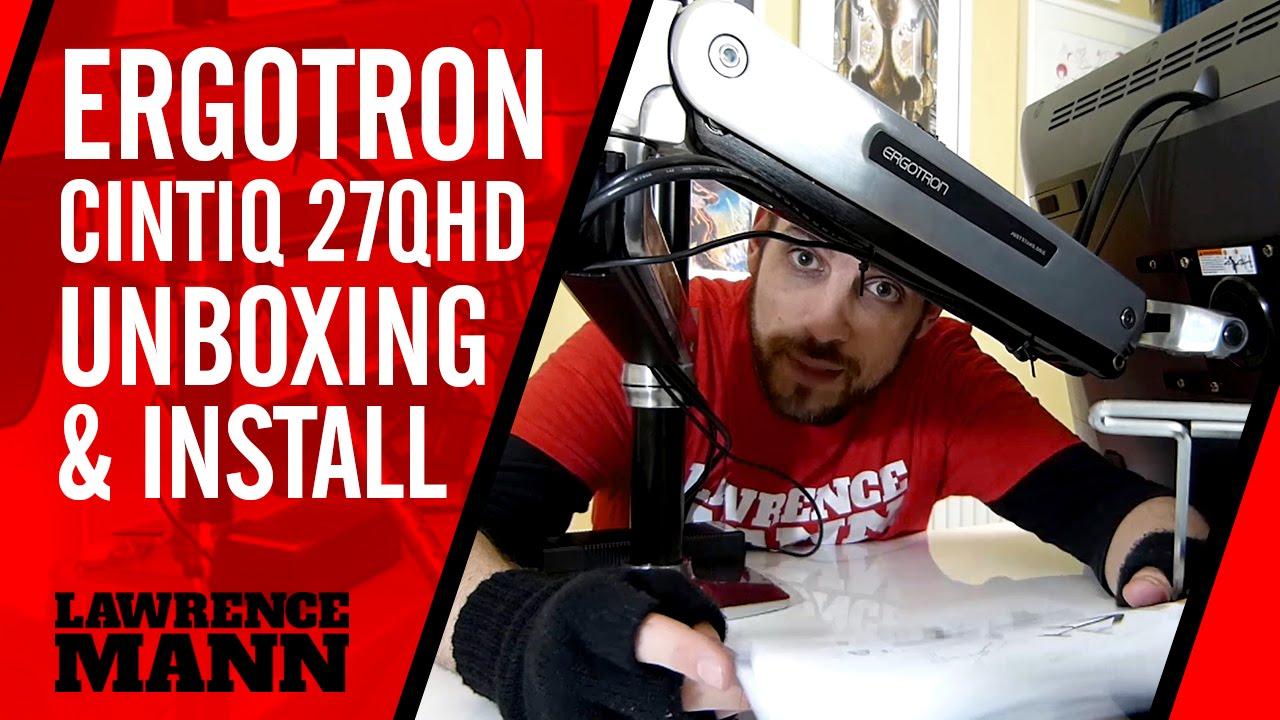 Ergotron Lx Sit Stand Desk Mount Lcd Arm Unboxing