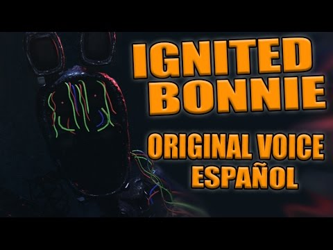 THE JOY OF CREATION REBORN - IGNITED BONNIE ORIGINAL VOICE ESPAÑOL - FIVE NIGHTS AT FREDDY'S