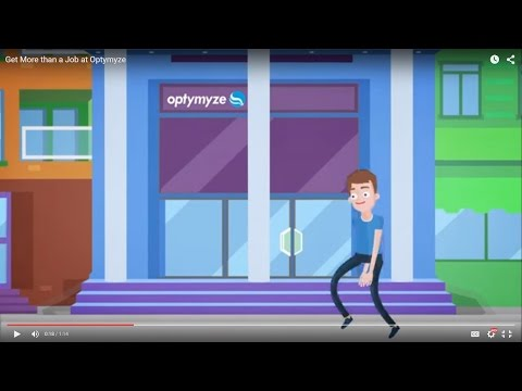 Get More than a Job at Optymyze