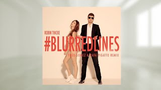 Robin Thicke - Blurred Lines ft. T.I. Pharrell ( INSTRUMENTAL )