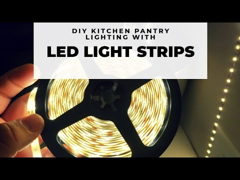 BRIGHT IDEA!! How to Cut, Connect & Power LED Light Strip Lighting