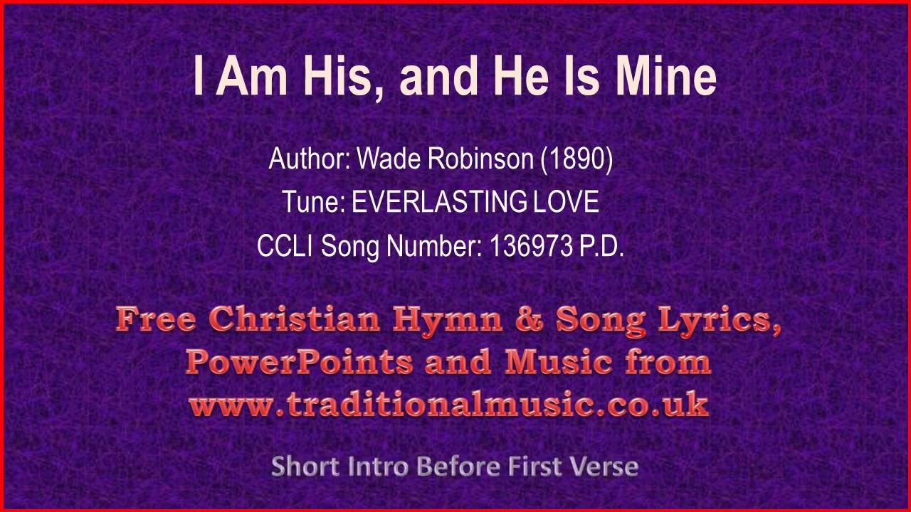 Everlasting love christian song lyrics