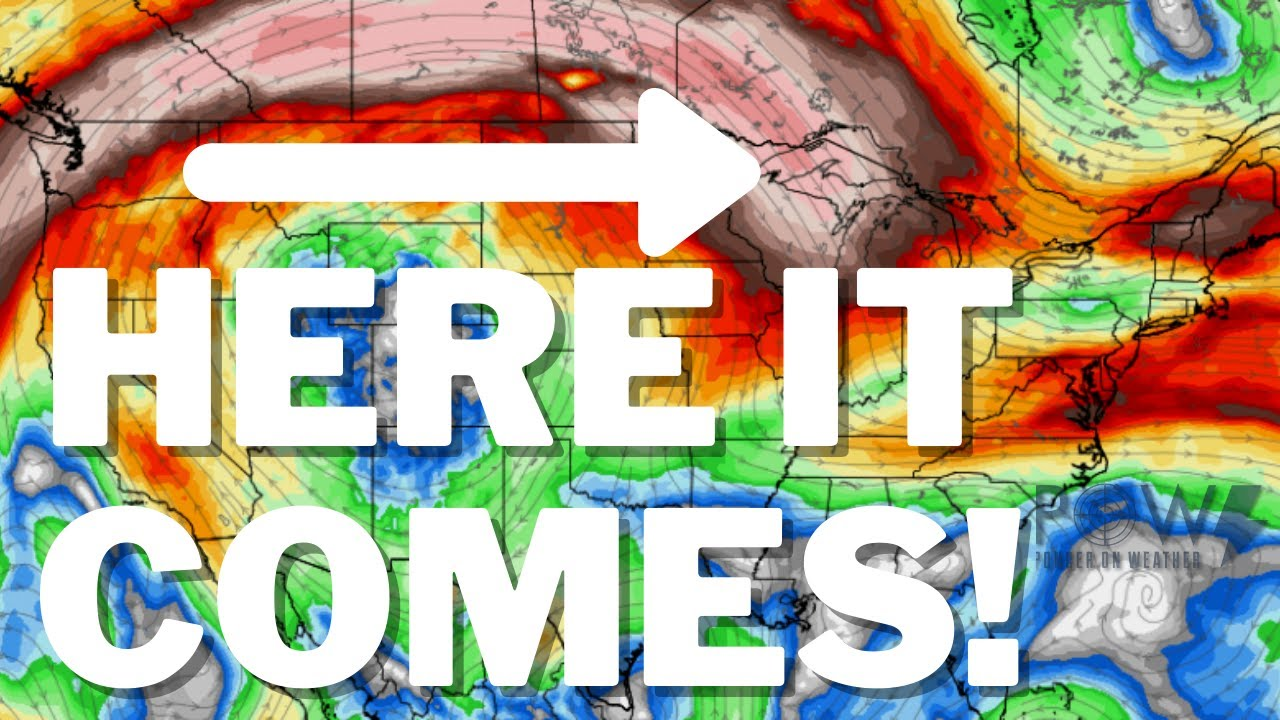 Multiple Storm Systems, Flash Flooding & Upcoming Cooldown! POW Weather Channel