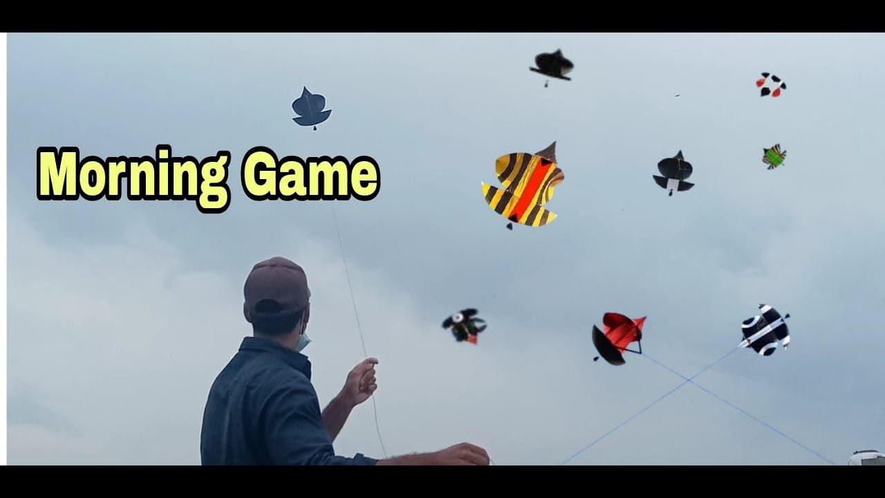 Amazing Patang Bazi | Morning Game | Kite Fighting | Kite Flying | Best Paichy | How Cut Patang.