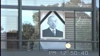 好天に恵まれた皇居には全国から多くの人々が集まり昭和天皇の在りし日...