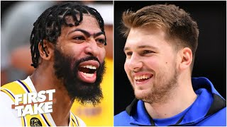 Luka Doncic or Anthony Davis: Which NBA star will win '20-21 NBA MVP? | First Take