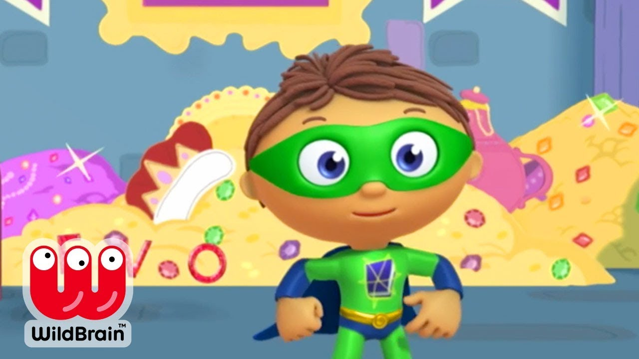 Super Why | Full Episodes | Story Time With Treasure | Cartoons for Kids