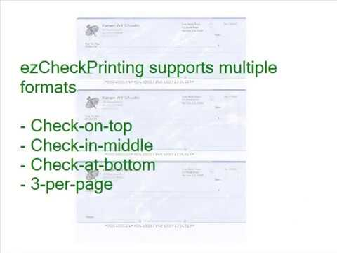 How to Print QuickBooks Blank Checks Yourself