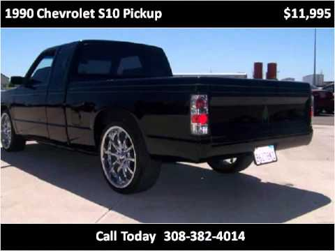 1990 chevrolet s10 pickup used cars grand island ne youtube. Black Bedroom Furniture Sets. Home Design Ideas