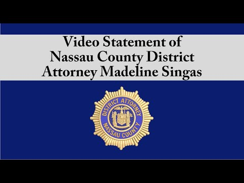 Nassau County District Attorney Madeline Singas details the charges.