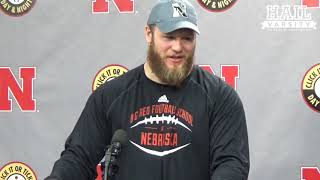 Nebraska Football: DL Mick Stoltenberg on his Last Home Game and Setting the Foundation