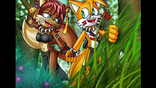 What does the Fox Says Tails, Fiona, and Anti-Miles