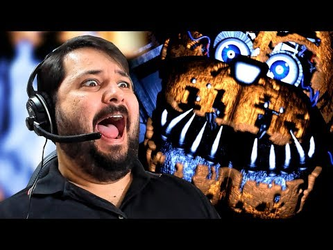 NUNCA LEVEI TANTO SUSTO! FNAF POST SHIFT!