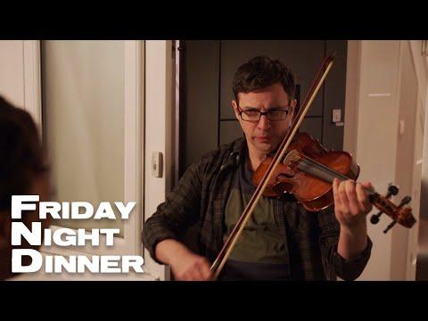 Adam FINALLY Gets To Play His Violin   Friday Night Dinner