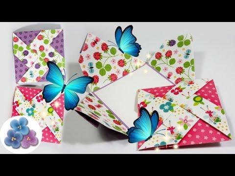 tarjetas de cumplea os creativas molinillo de papel