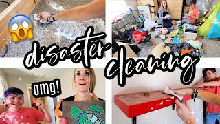 If your house is disaster messy...watch this! 🖤👀 ALL NEW *EXTREME* DEEP CLEAN TO MOTIVATE YOU!