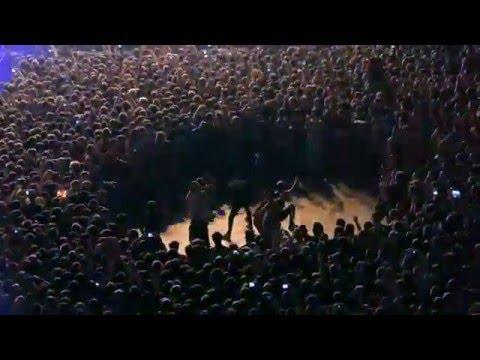Слэм на концерте Slipknot в СК Олимпийский 30 января 2016 года