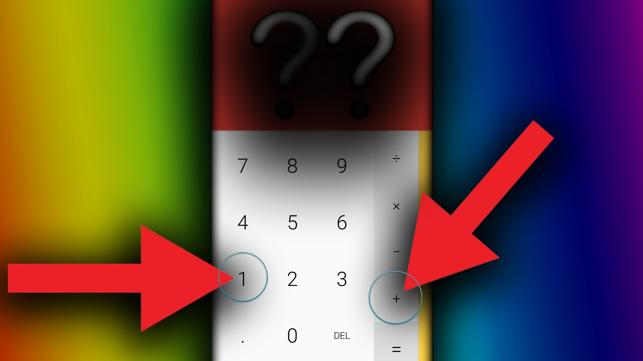 ANDROID NOUGAT CALCULATOR EASTER EGG//OnePlus 3/3T