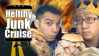 Arby's Meat Mountain Secret Menu Item Review - HellthyJunkCruise - Episode 8