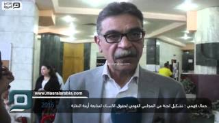 مصر العربية | جمال فهمي : تشكيل لجنة من المجلس القومي لحقوق الانسان لمتابعة أزمة النقابة