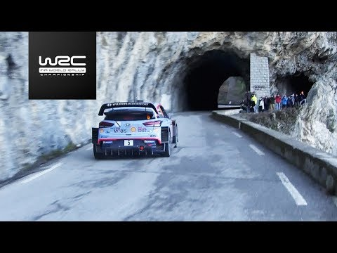 WRC - Rallye Monte-Carlo 2018: Best of Action