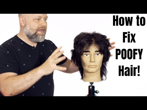 how-to-fix-poofy-hair---thesalonguy