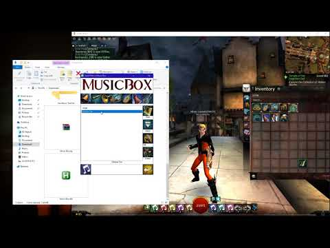 Music Box / Auto-hotkey Tutorial For Guild Wars 2 On Windows 10 and....READ THE DESCRIPTION!
