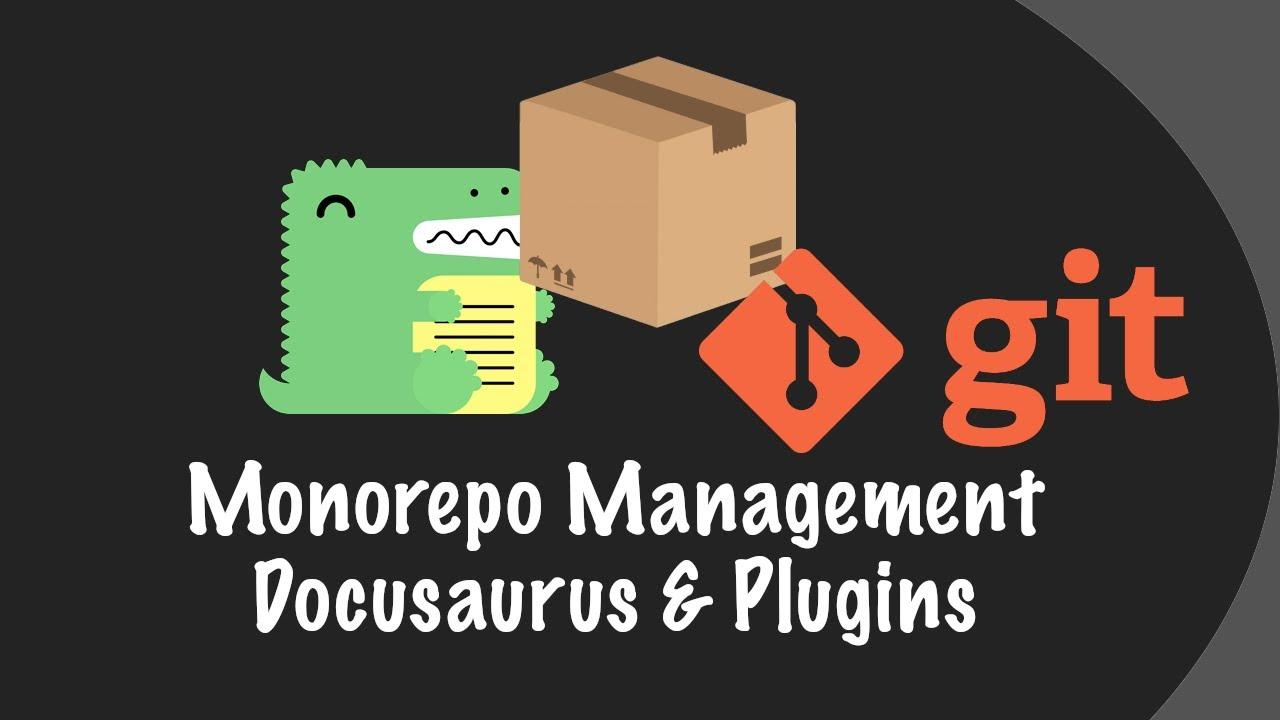 Monorepo Development Example with Docusaurus Website and Plugins