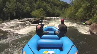 Ocoee River Rafting Middle - Spring 2014