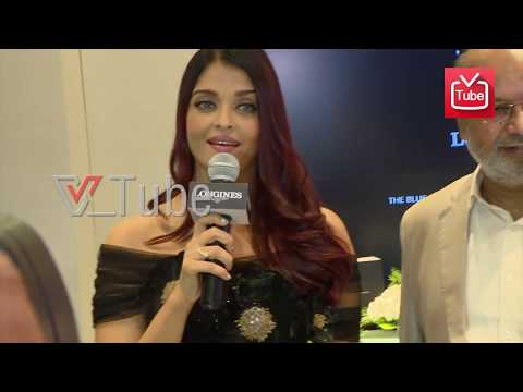 Aishwarya Rai Speaks About Her Family In Bangalore | Longines New Boutique