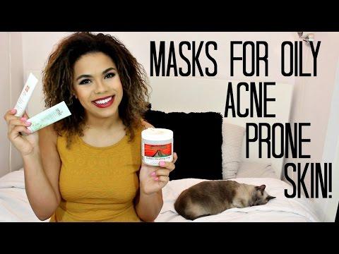 5 Masks for Acne Prone & Oily Skin! | samantha jane