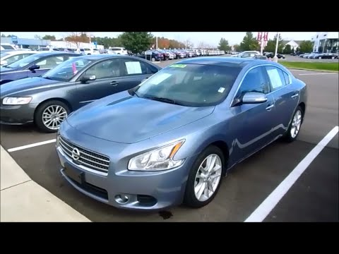 2011 nissan maxima 3 5 sv start up and full tour youtube. Black Bedroom Furniture Sets. Home Design Ideas