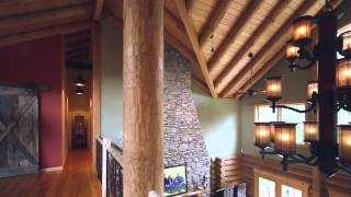 Big River Lodge By Real Log Homes Virtual Tour
