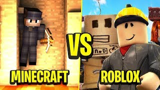 Minecraft VS Roblox-WHICH GAME IS BETTER?